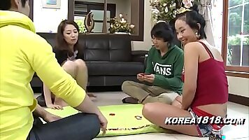 Korean dolls stripping and touching